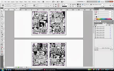 zine layout software giant rhinos in space digital zine production