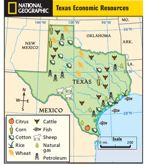 map of texas resources tx maps mr palm s social studies science site