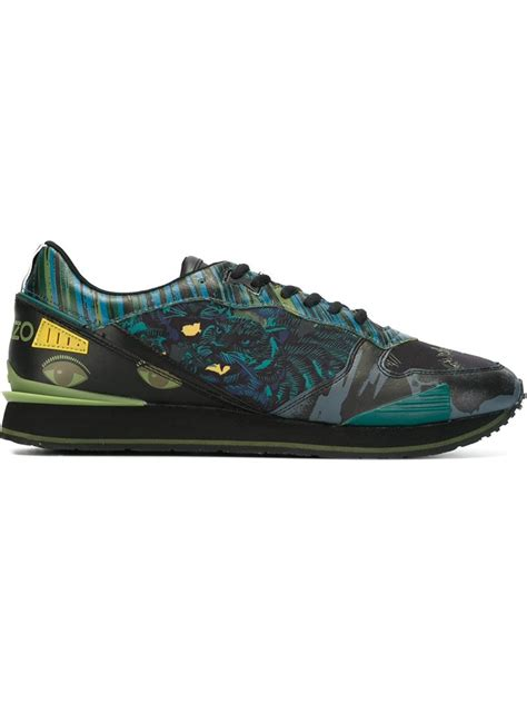 kenzo shoes lyst kenzo sneakers for