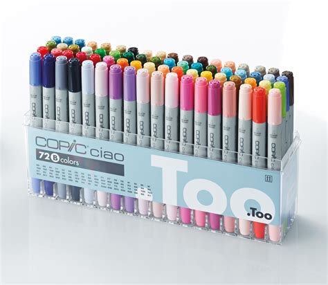 Copic Ciao Set 72 A copic ciao 72 b marker set ciao copic markers cheap from g direct graphics direct