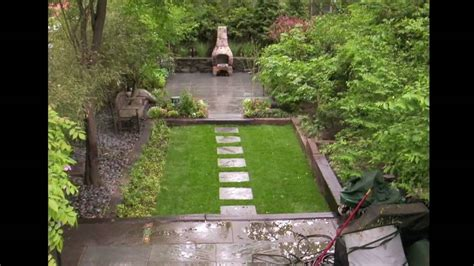 How To Landscape A Small Backyard by Designing Your Townhouse Garden Landscaping Part 2