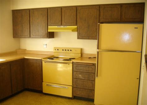 Gold Kitchen Appliances by House Photos 187 1970s