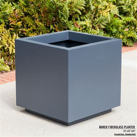 Fiberglass Planters by Toe Kick Fiberglass Planters Outdoor Planters Unlimited