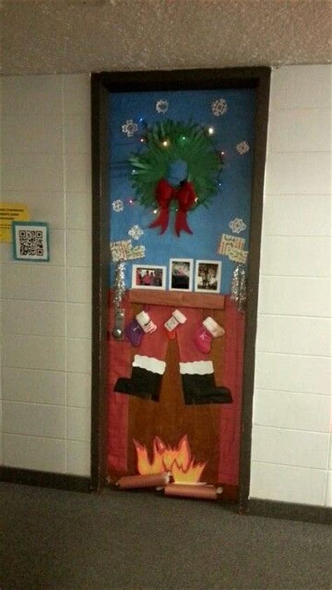 christmas decorations in classroom classroom door decorations chimney happy holidays
