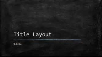 Free Chalkboard Powerpoint Template by Free Classroom Chalkboard Template For Powerpoint