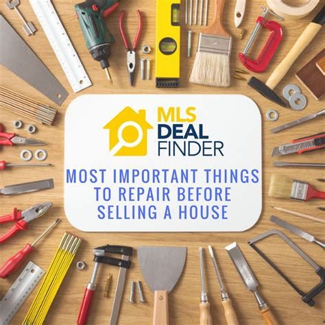 necessary things for house important things to repair before selling a house mls