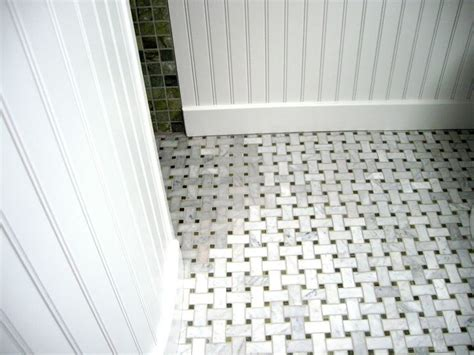 basketweave tile bathroom carrera basketweave google search back powder room