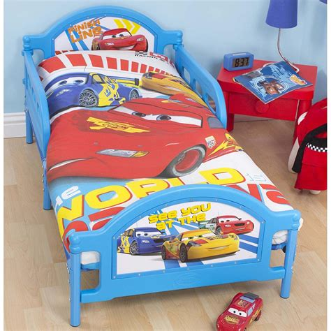 Up Toddler Bed by Disney Cars Speed Junior Toddler Bed New Childrens Ebay