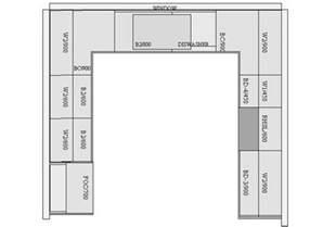 U Shaped Kitchen Floor Plans Small Kitchen Floor Plans Pthyd