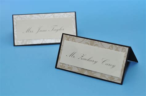 place cards how to make table place cards for wedding 2 wall decal