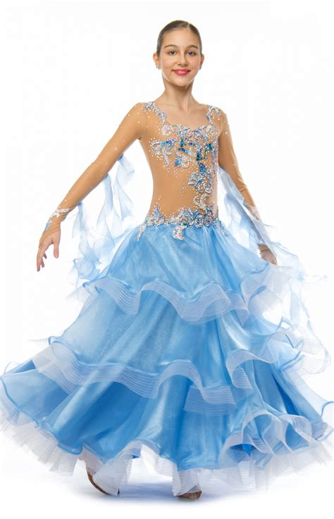 Dress Standar 1 boys dancesport dresses childrens dancewear