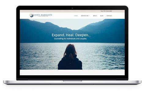 website design psychotherapy website design