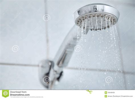 Water Management Shower by Shower Royalty Free Stock Image Image 33548426