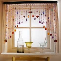 Kitchen Curtains Designs Fine Looking Kitchen Curtain Ideas Beads 5323 Home