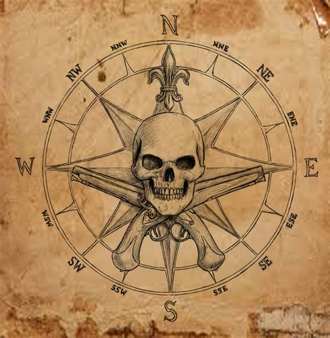 compass tattoo phrase pirate compass symbol by dashinvaine on deviantart