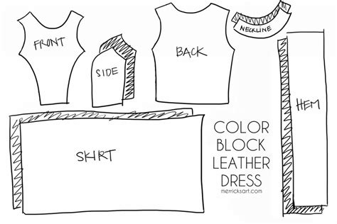 shirt pattern pieces merrick s art style sewing for the everyday