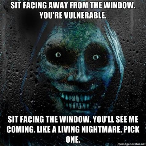 Scary Ghost Meme - real scary guy via meme generator horror and scary stuff