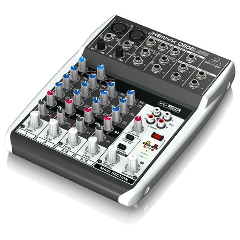 Blender Usb behringer xenyx q802usb mixer usb a gear4music