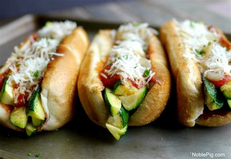 zucchini for dogs zucchini marinara dogs noble pig