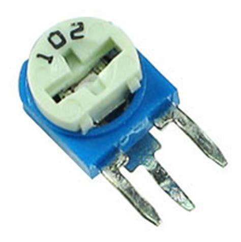 10k trimpot resistor datasheet trimv10k 10k 1 2w miniature vertical potentiometer trimpot