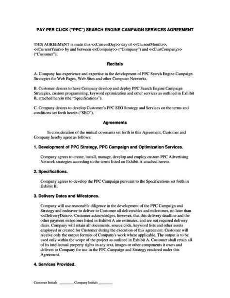 Master Services Agreement Template Sletemplatess Sletemplatess Master Service Agreement Template