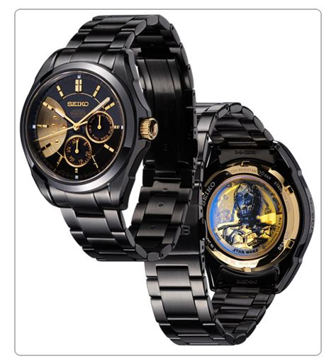Jam Tangan Darth Vader Wars cool seiko jepun keluarkan jam tangan edisi khas