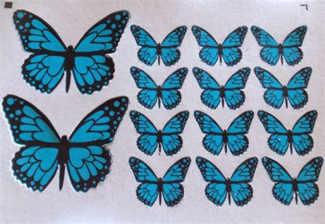 imagenes mariposas de papel fotopastel paso a paso para decorar una tarta con