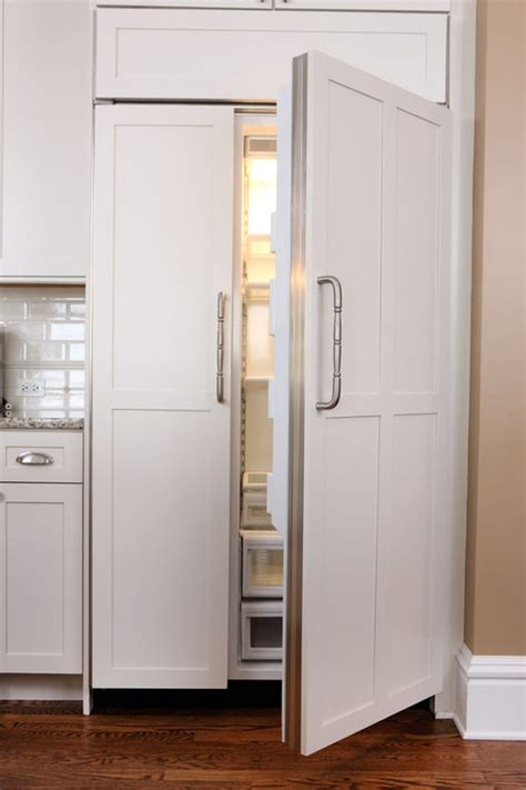 built in refrigerator cabinets easy cleaning tips for the kitchen