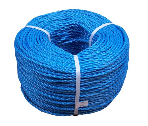 6mm Polypropylene Rope - 8mm blue poly rope