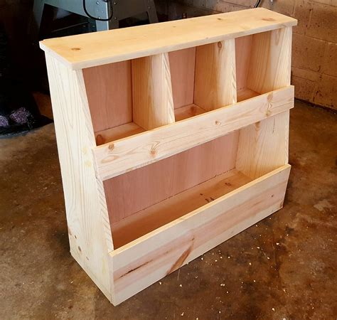 ana white toy storage bin box  cubby shelves diy