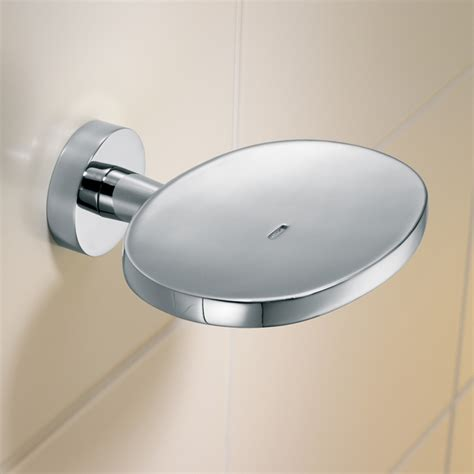 bathroom accessories soap holder caroma cosmo chrome soap holder bunnings warehouse