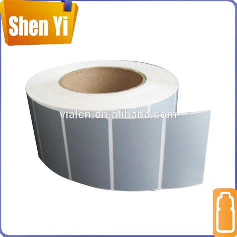 printing sticker paper roll custom adhesive vinyl sticker roll cheap blank sticker