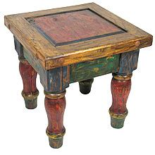 tisch mexico mexican painted furniture rustic country style