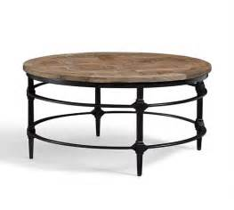 display coffee table pottery barn parquet reclaimed wood coffee table pottery barn