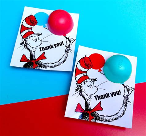 Dr Seuss Baby Shower Favors by Dr Seuss Baby Shower Favors Eos Lip Balm Diy Printable Thank