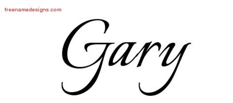 tattoo name gary gary archives page 2 of 3 free name designs