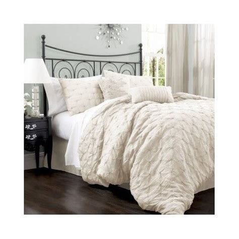4 green ruffle comforter set in size new king size bedding comforter sets and lush on