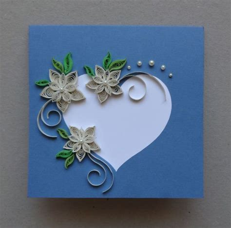 How To Make A Greeting Card By Paper Quilling - best 25 quilling cards ideas on quiling paper