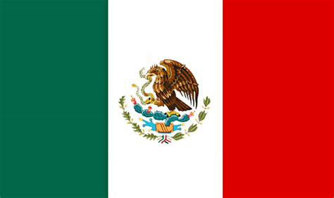 mexican flag from the flags of the world database
