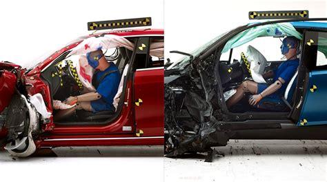 Tesla Model S Safety Test Tesla Model S и Bmw I3 не получили высшую награду Iihs Top