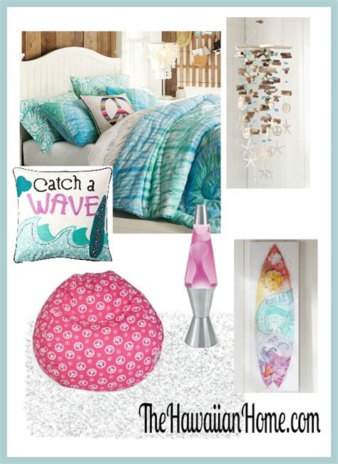 Decorating Ideas For Bedrooms On A Budget girls hippie surf theme bedroom the hawaiian home