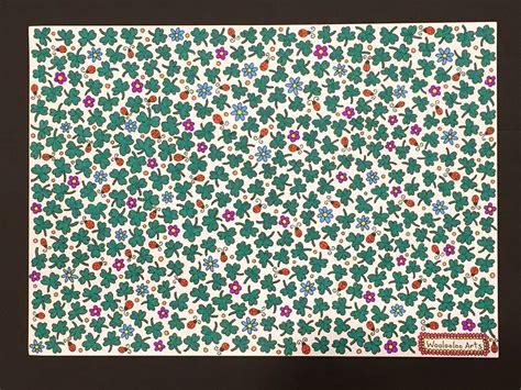 imagenes retos visuales 161 encuentra el tr 233 bol de cuatro hojas en esta ilustraci 243 n