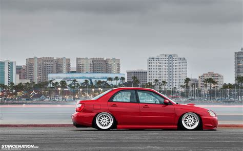 slammed cars wallpaper cars tuning subaru impreza slammed wallpaper
