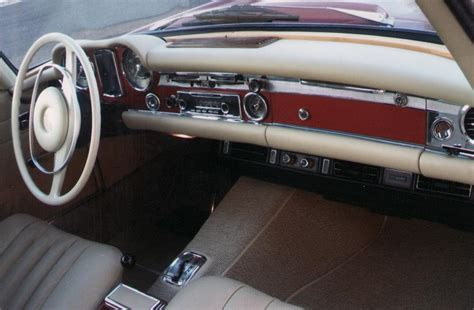 Mercedes 280sl Interior by 1968 Mercedes 280sl Convertible 70913