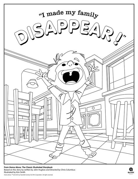 home coloring pages home alone free colouring pages