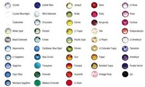zodiac colors color chart