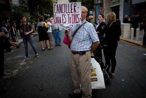 Imagenes De Justicia Por Nisman | el universal el mundo cientos exigen justicia por