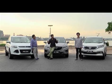 Vs 25 Cr driven 2 honda cr v vs mazda cx 5 vs ford kuga