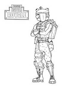 Dibujos de Fortnite Battle Royale para colorear, descargar