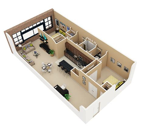 Half Bathroom Floor Plans apartments for rent at cobbler square lofts in old town